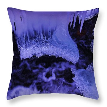 Throw Pillow featuring the photograph Enter The Lair by Sean Sarsfield