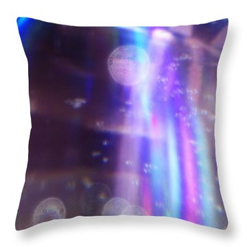 Throw Pillow featuring the photograph Enterprise Approaching by Martin Howard