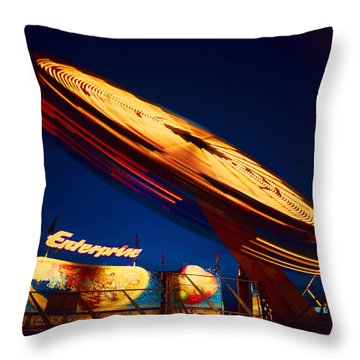 Enterprise Throw Pillow