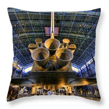 Enterprise Engines Throw Pillow