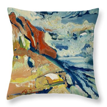 Entertainment Throw Pillow by Joseph Demaree