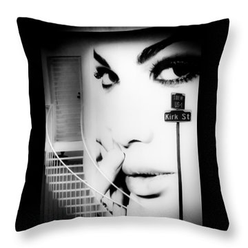 Entrance To A Woman's Mind Throw Pillow