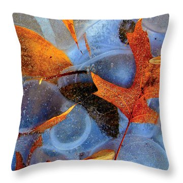 Entrapment Throw Pillow by Christopher McKenzie