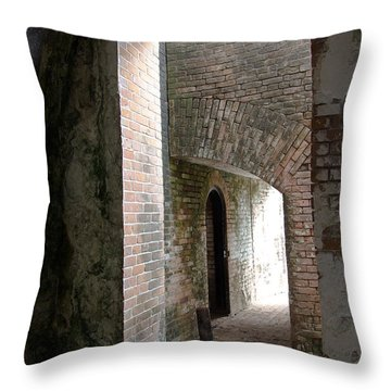 Entries Throw Pillow by Kathy Bassett