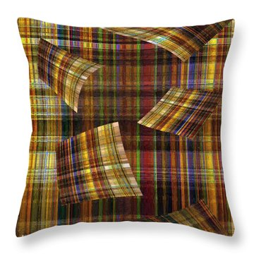 Entropy Throw Pillow by RC deWinter