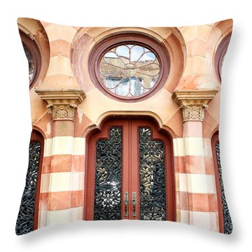 Entry Charleston Throw Pillow by William Dey