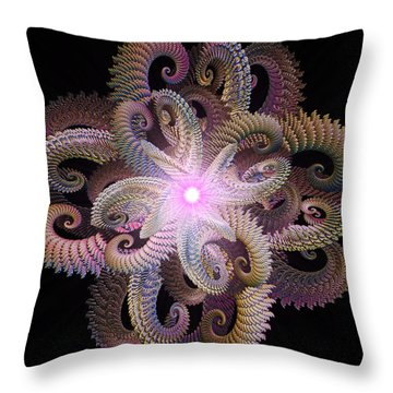 Entwined Throw Pillow by Michael Durst