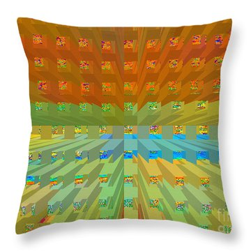 Throw Pillow featuring the digital art Envision by Ann Johndro-Collins