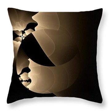 Envy Throw Pillow by GJ Blackman
