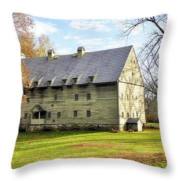 Ephrata Cloister Throw Pillow by Jean Goodwin Brooks