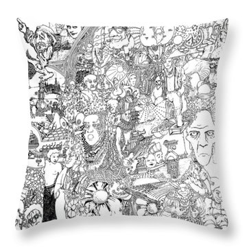 Epic 2011 Throw Pillow by Steve  Hester