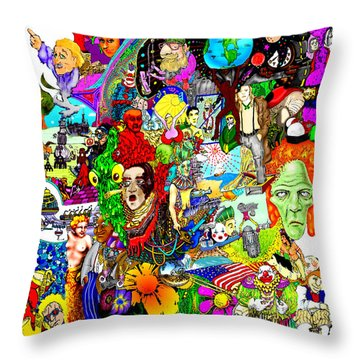 Epic 25  Throw Pillow