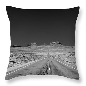 Epic Monument Valley Throw Pillow by Christine Till