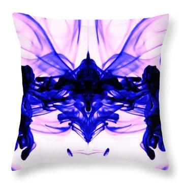 Epicenter Of An Orgasm Throw Pillow by Sumit Mehndiratta