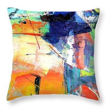 Epiphany Throw Pillow by Ana Maria Edulescu