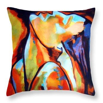 Epiphany Throw Pillow by Helena Wierzbicki