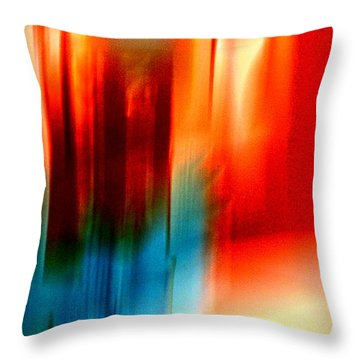 Epiphany Throw Pillow by Jacqueline McReynolds
