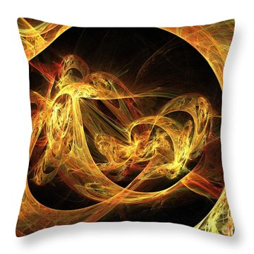 Epoch Throw Pillow by Kim Sy Ok