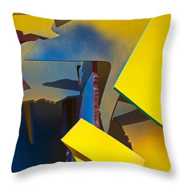Epoch Throw Pillow by Stuart Litoff