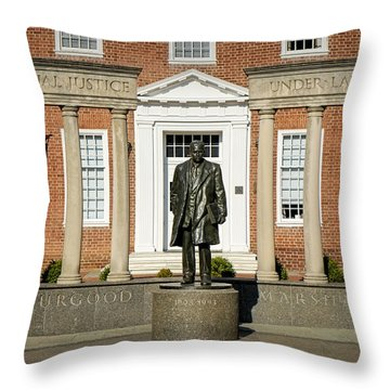 Equal Justice Under Law Throw Pillow