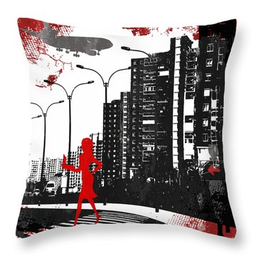 Equality Throw Pillow by Angelina Vick