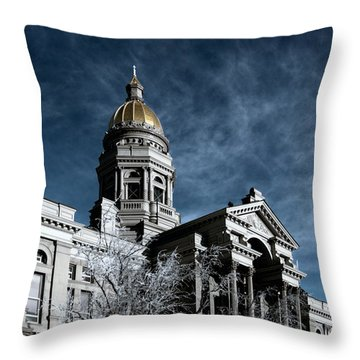 Equality State Dome Throw Pillow