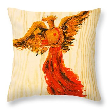Equally Unconditional Throw Pillow