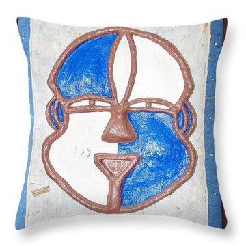 Equete Throw Pillow