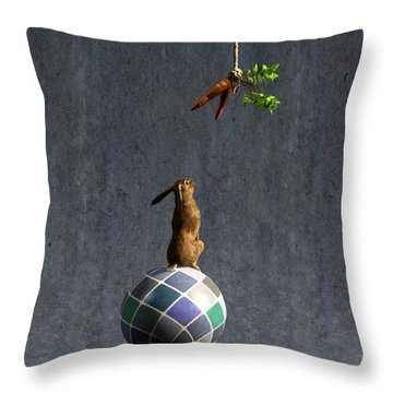 Equilibrium II Throw Pillow