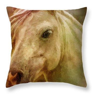 Equine Fantasy Throw Pillow by EricaMaxine  Price