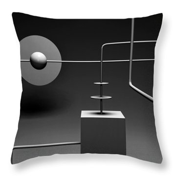 Equinox  Throw Pillow by Richard Rizzo