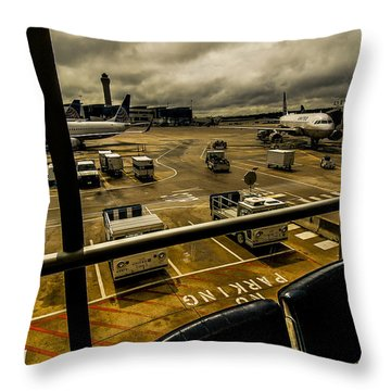 Equipment Throw Pillow by Eugene Carson