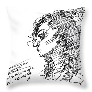 Erbi Throw Pillow