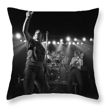 Eric Burdon Throw Pillow