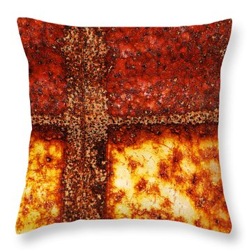 Erosion Throw Pillow by Wendy Wilton