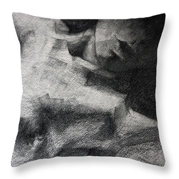 Erotic Sketchbook Page 1 Throw Pillow by Dimitar Hristov