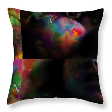 Abstract Expresionism Throw Pillows