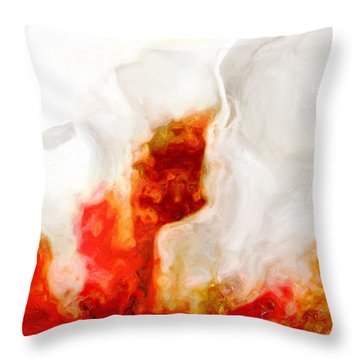 Eruption Throw Pillow by Jack Zulli