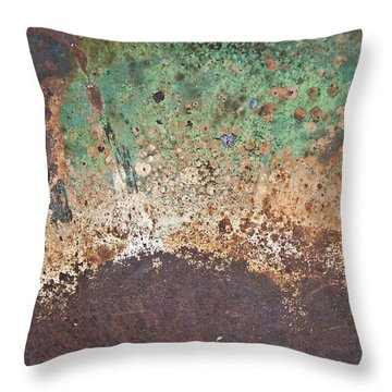 Eruption Volcanic Abstract Throw Pillow