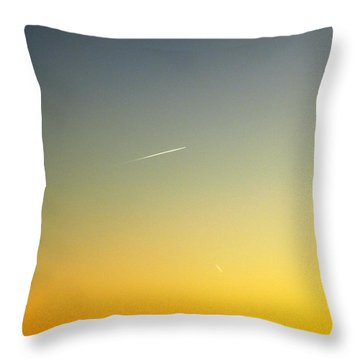 Throw Pillow featuring the photograph Escape by Carlee Ojeda
