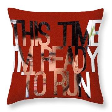 Ready To Run/zayn Throw Pillow