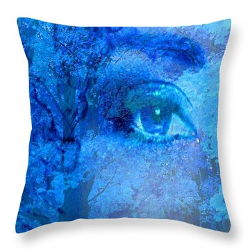 Escape Throw Pillow by Matthew Lacey