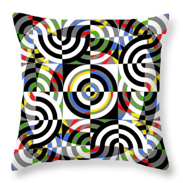Escape Route Throw Pillow by Mike McGlothlen