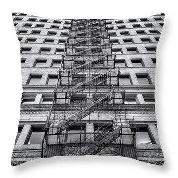 Escape Throw Pillows