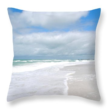 Escape To Paradise Throw Pillow by Margie Amberge