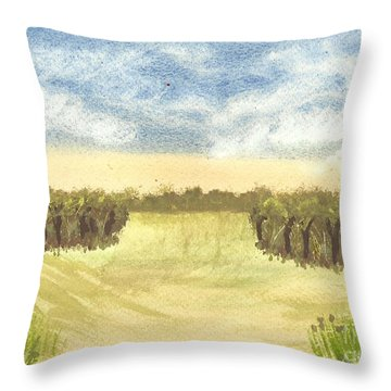 Escape To The Country Throw Pillow