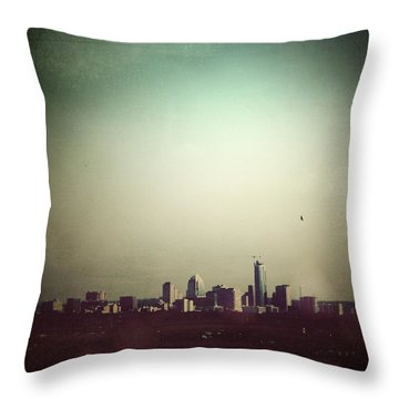 Escaping The City Throw Pillow