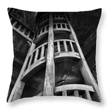 Escher's Hideaway Throw Pillow