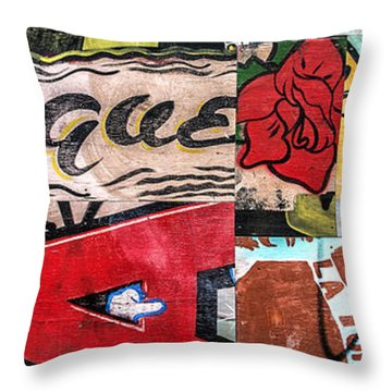 Especially Colorful Throw Pillow