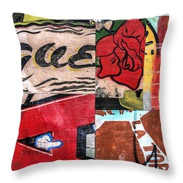 Especially Colorful Throw Pillow